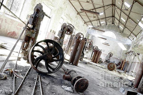 Abandoned Photograph - Abandoned Factory by Carlos Caetano