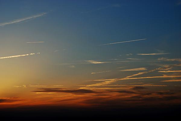 Sky Photograph - Above Us Only Sky by Dean Harte
