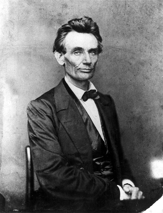 1800s Photograph - Abraham Lincoln 1860portrait By B by Everett