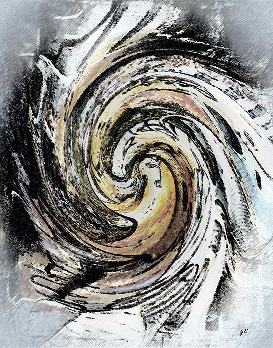 Abstract Digital Art - Abstract - Turmoil by Gerlinde Keating - Galleria GK Keating Associates Inc