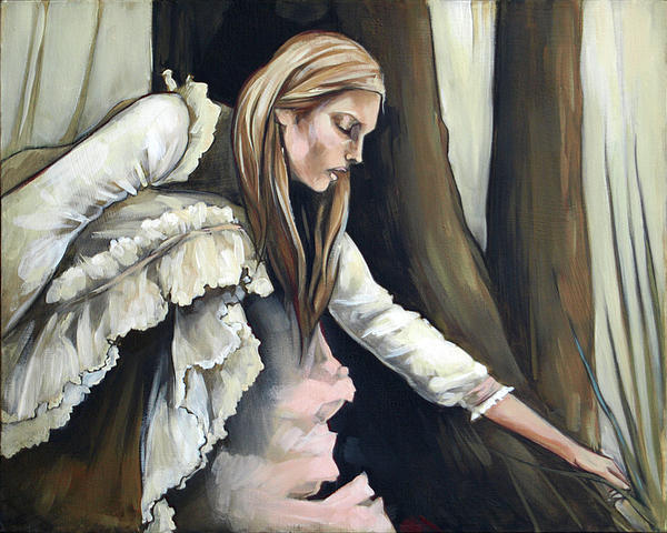 Blonde Painting - Across by Jacque Hudson