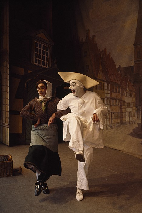Indoors Photograph - Actors Perform Pantomimes At Tivoli by Sisse Brimberg