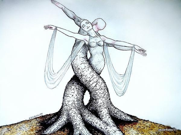 Progress Digital Art - Adagio Of Life by Paulo Zerbato