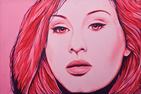 Adele Painting - Adele by Derek Donnelly