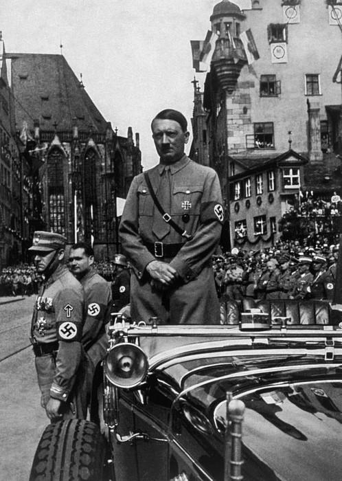 Adolf Hitler At Parteitag Der Freiheit Photograph by Everett