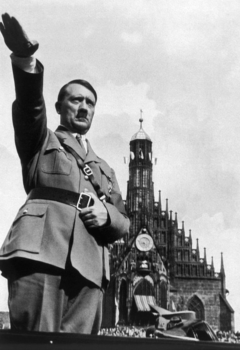 Adolf Hitler At Reichsparteitag, 1934 Photograph by Everett