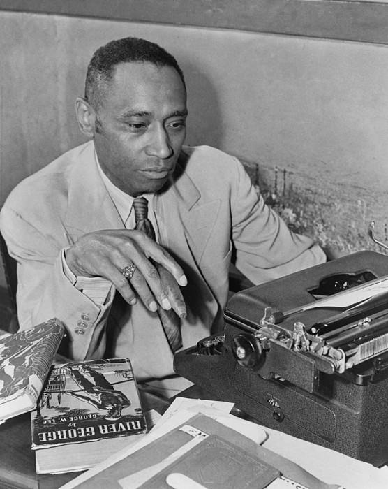 History Photograph - African American Author George by Everett