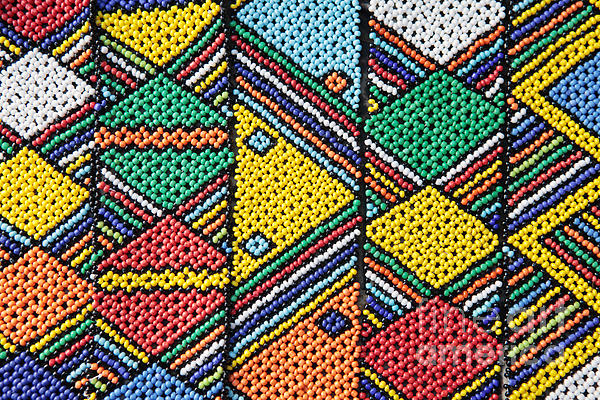 Africa Photograph - African Beadwork 1 by Neil Overy