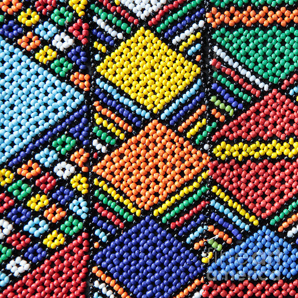 Africa Photograph - African Beadwork 2 by Neil Overy