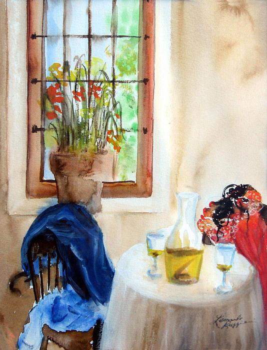Still Life Painting - Afternoon Delight by Leonardo Ruggieri