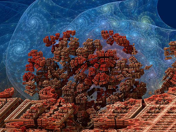 Space Digital Art - Airlock Malfunction by Pam Blackstone