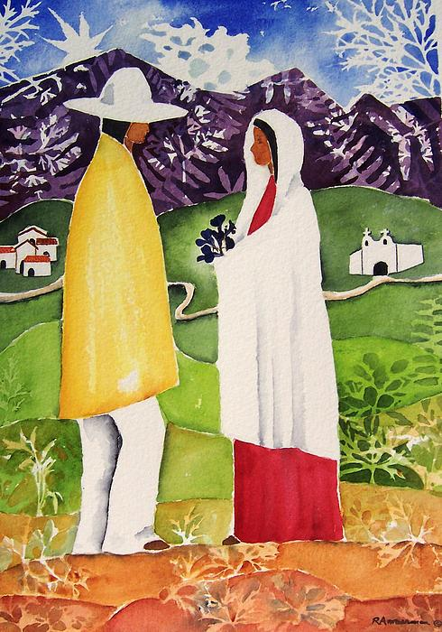 Southwest Painting - Al Empezar by Regina Ammerman
