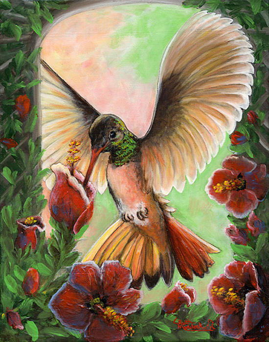Hummers For Sale >> All Terraine Hummer Painting by Ruth Ann Murdock