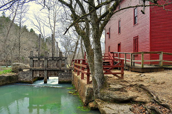 Mill Photograph - Alley Spring Mill 34 by Marty Koch