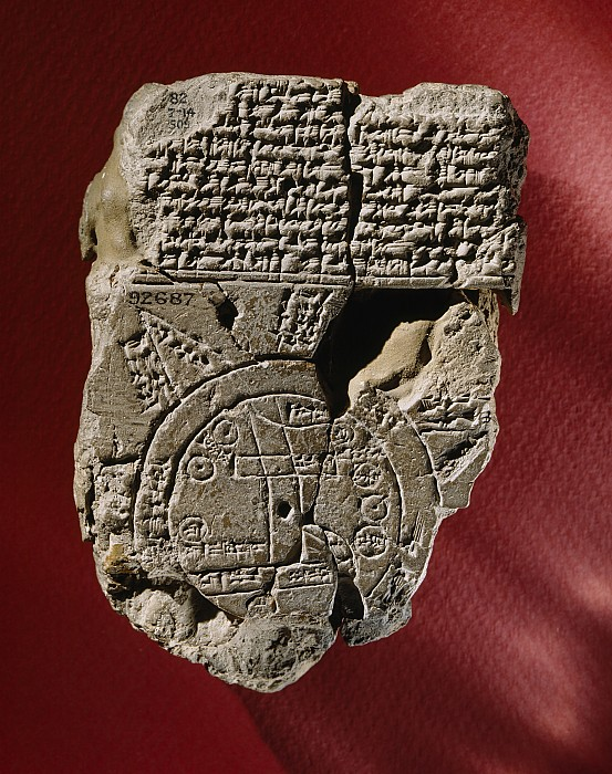 Nobody Photograph - An Ancient Mesopotamian Map And Text by Victor R. Boswell, Jr