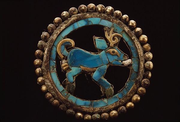 Deer Photograph - An Ancient Moche Indian Ear Ornament by Bill Ballenberg