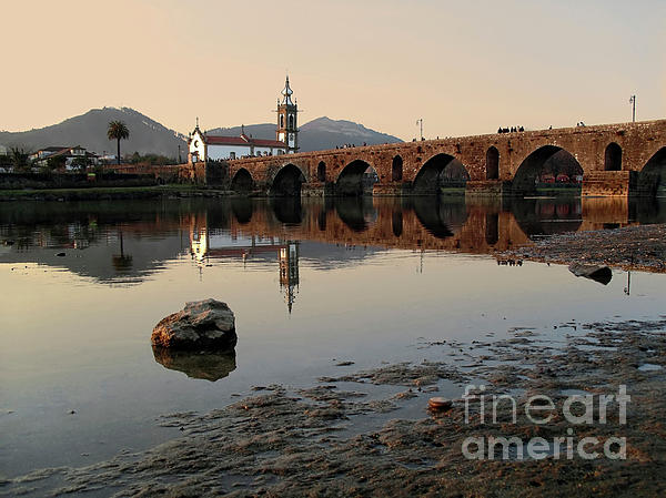 Travel Photograph - Ancient Bridge by Carlos Caetano
