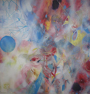 Abstract. Painting - Angel by Cima Azimi