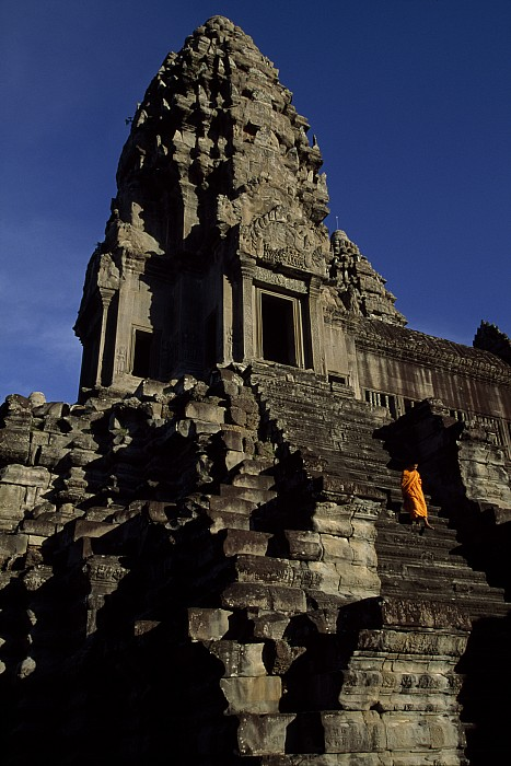Angkor Wat Photograph - Angkor Wat Temple Complex With Ornate by Paul Chesley