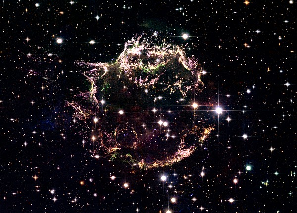 Stars Photograph - Animation Of A Supernova Explosion by Harvey Richer