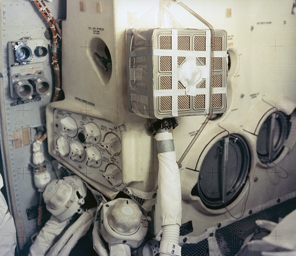 History Photograph - Apollo 13 Lunar Module And The Mailbox by Everett