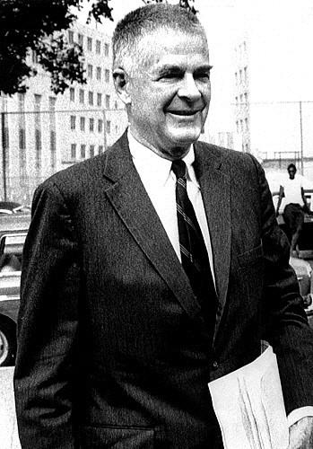 1970s Portraits Photograph - Archibald Cox, Watergate Prosecutor by Everett