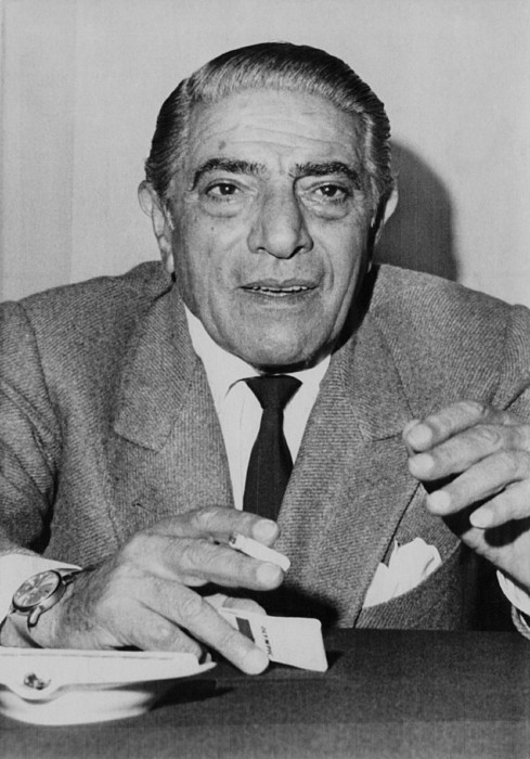 1970s Photograph - Aristotle Onassis, Circa Early 1970s by Everett