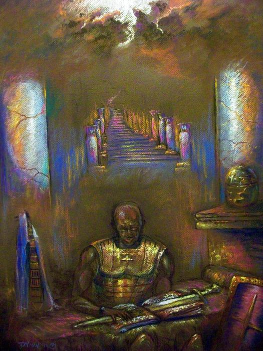 Heaven Pastel - Armor Of God by Tommy  Winn