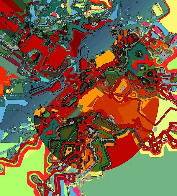 Artificial Retina Digital Art - Artificial Retina by Rod Saavedra-Ferrere
