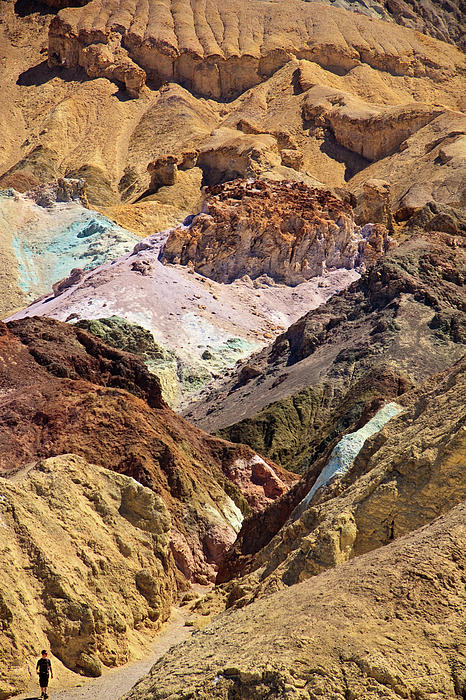National Park Photograph - Artists Palette At Death Valley by Levin Rodriguez