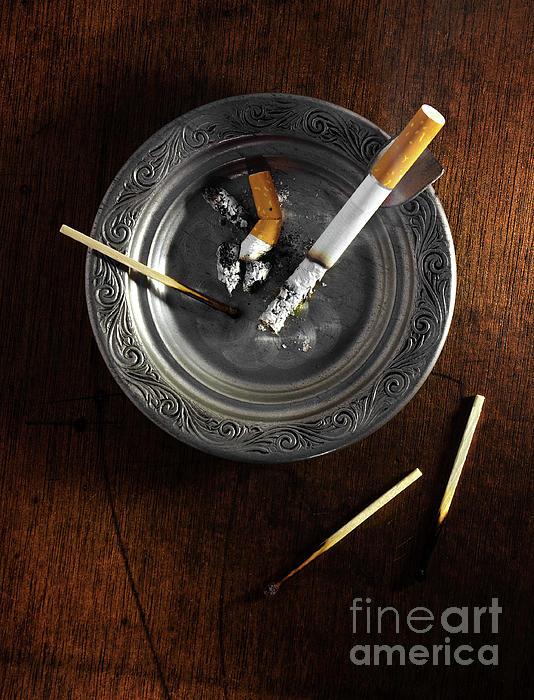 Addiction Photograph - Ashtray by Carlos Caetano