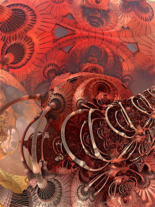 3d Digital Art - Asimov One by Pam Blackstone