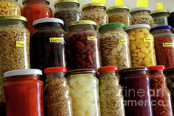 Assorted Photograph - Assorted Spices by Carlos Caetano