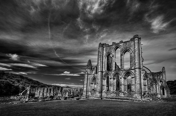 Rievaulx Photograph - At The Dreamscape Ruins by Evelina Kremsdorf