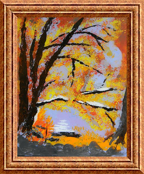 Trees Painting - Autumn Dreaming  by Warren Thompson