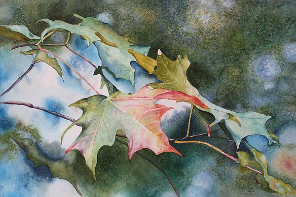 Autumn Sparkle Painting by Patsy Sharpe