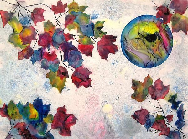Leaves Painting - Autumns Jewels by David Raderstorf