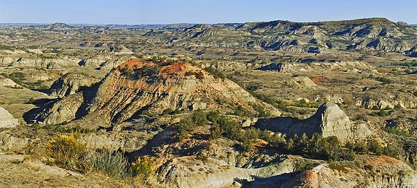 Badlands Photograph - Bad Lands  by Michael Peychich