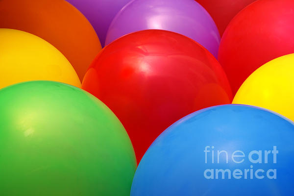 Background Photograph - Balloons Background by Carlos Caetano
