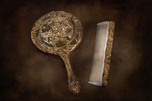 Hdr Photograph - Barber - Im So Pretty by Mike Savad