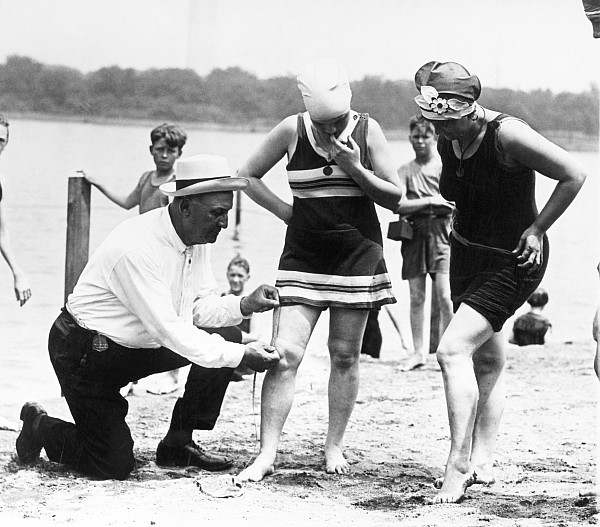 1922 Photograph - Bathing Suits, 1922 by Granger