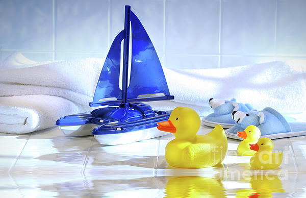 Water Photograph - Bathtime Fun  by Sandra Cunningham