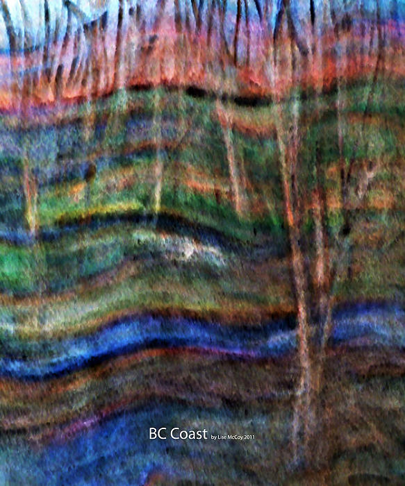 Bc Coast Painting by AnneLise McCoy