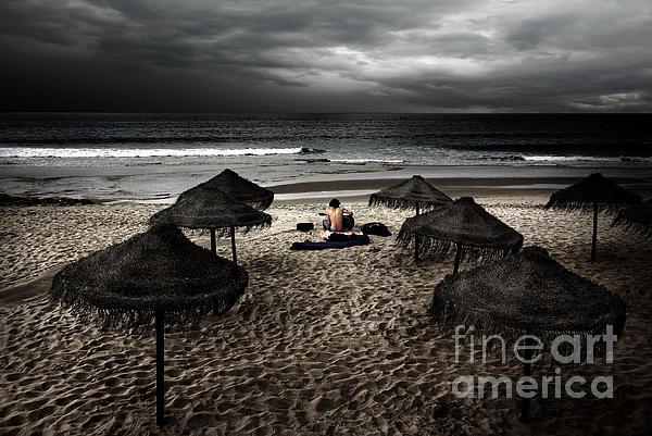 Artist Photograph - Beach Minstrel by Carlos Caetano