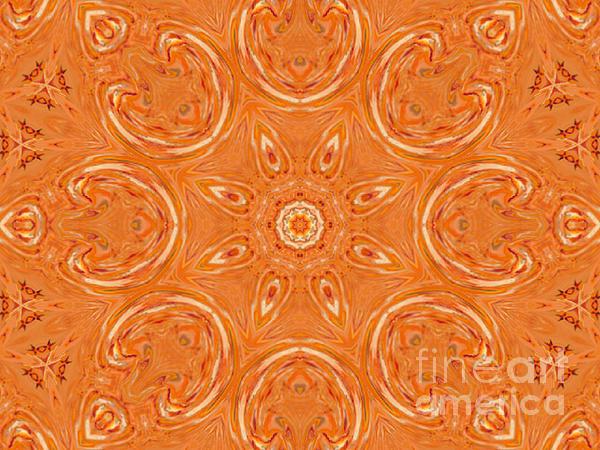 Jordan Allen Artist Digital Art - Beautiful Orange by Jeannie Atwater Jordan Allen