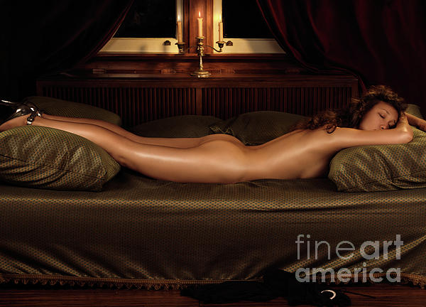 Erotic Photograph - Beautiful Woman Sleeping Naked by Oleksiy Maksymenko