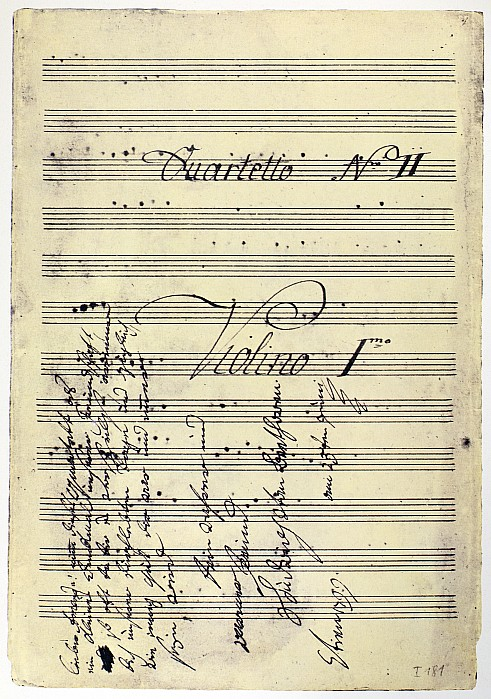 1799 Photograph - Beethoven Manuscript, 1799 by Granger