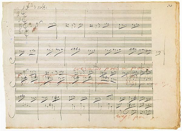 1806 Photograph - Beethoven Manuscript, 1806 by Granger