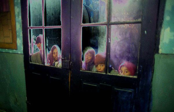 Door Photograph - Behind The Door by Emanuel Tanjala