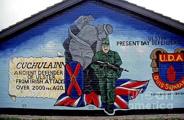 Mural Photograph - Belfast Mural by Thomas R Fletcher